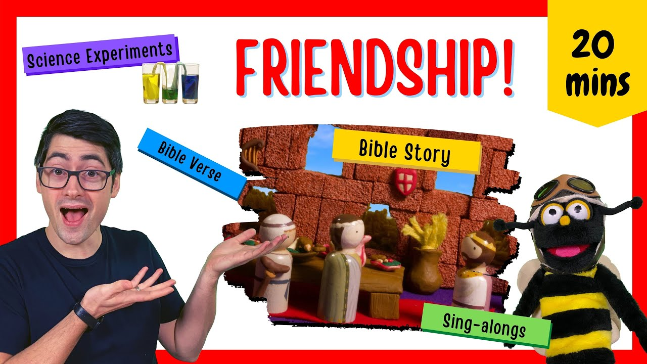 Because of Jesus, I Have a Friend Closer Than A Brother! (Kids' Bible Lesson)