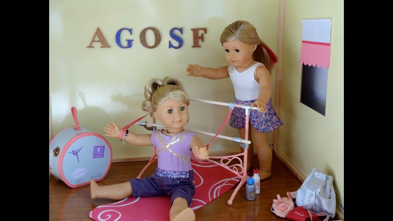 huge american girl doll house youtube