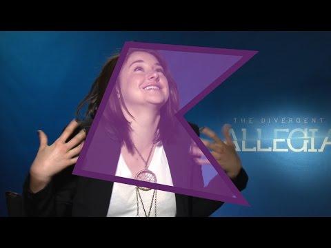 Shailene Woodley, Zoe Kravitz, Theo James & Miles Teller | Allegiant Cast Interview