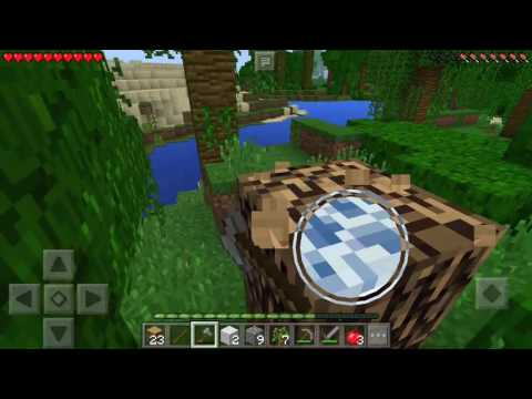Minecraft Pocket Edition Indonesia Baru Mulai Panen Diamond #Survival0