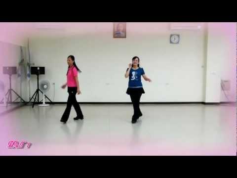 I'll Walk With You ( 我會陪你 ) - Line Dance