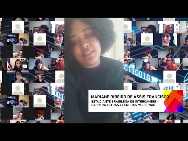DESDE EL MUNDO A LA UNLP MARIANE RIBEIRO DE ASSIS FRANCISCO