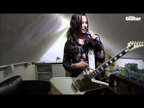 Me And My Guitar: Lzzy Hale (Halestorm) and her custom Gibson Explorer