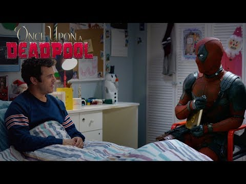 SHROOM - Deadpool Defends Nickelback In Once Upon a Deadpool Trailer [Video]