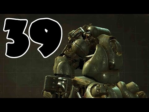 Fallout 4 Walkthrough Part 39 - ANGRY ROBOT BOSS!!