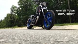 Repeat youtube video Kawasaki Vulcan EN500 Bobber