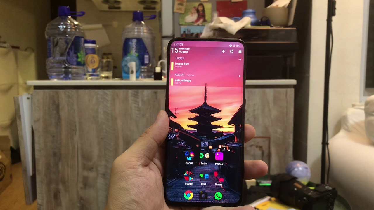 Oppo Find X Custom ROM Videos - Waoweo