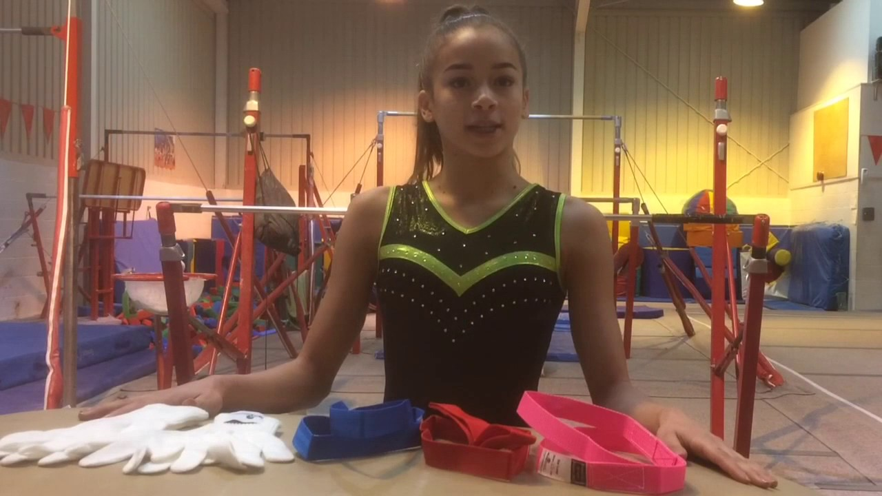 d5f7c35e1c92 Guide to gymnastic planet metal bar loops and gloves - YouTube