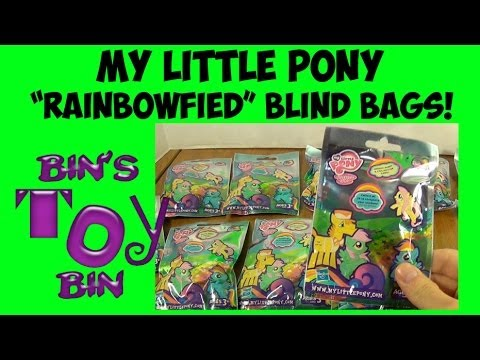 My Little Pony Quot Rainbowfied Quot Mystery Blind Bags Wave 9