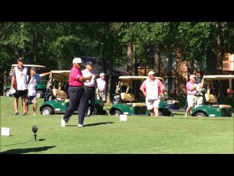 Lee Trevino Golf Swing at 77 Years Of Age 2017