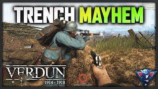 TRENCH MAYHEM! | Verdun Gameplay