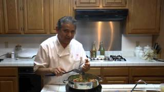 Cooking Italian Wedding Soup