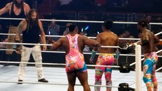 New Day vs Wyatt Family - Battleground Live FanCam 7/24/16