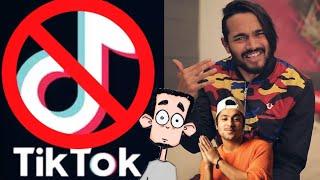 Tik Tok Banned - Harsh Beniwal, Gareeb Reaction | BB Ki Vines Announcement | CarryMinati, Facttechz