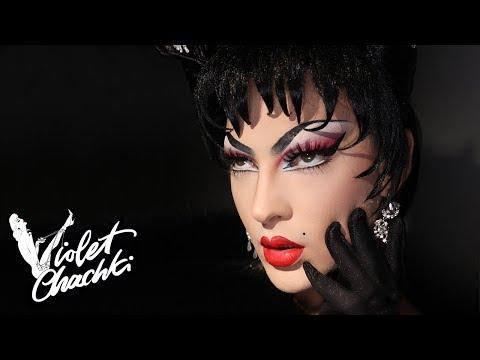 PAT MCGRATH TOUR MAKEUP | Violet Chachki's Digital Drag