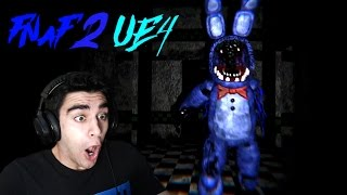 THIS IS LIKE OVERNIGHT 2 REBOOT! - Five Nights at Freddy's 2 (Unreal Engine 4 ENDING)