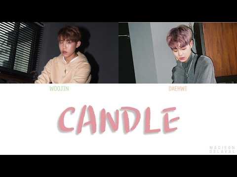 PARK WOO JIN (박우진) & LEE DAE HWI (이대휘) - 'Candle' (캔들) Lyrics [Color Coded Han_Rom_Eng]