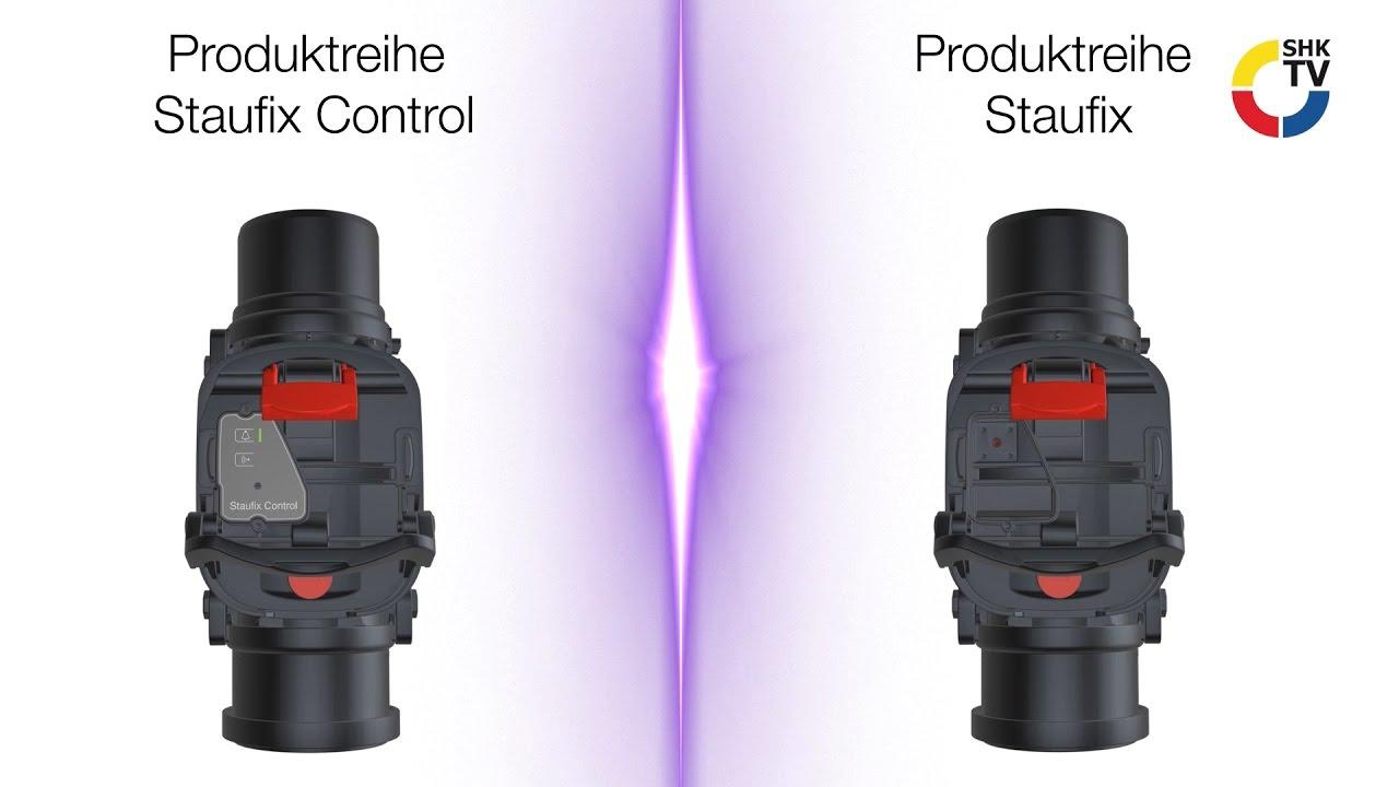 Produkt im Blickpunkt: Rückstauverschluss Staufix und Staufix ...