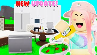 NEW Bloxburg UPDATE! Dishwashers, Kids Can COOK, and MORE! (Roblox)