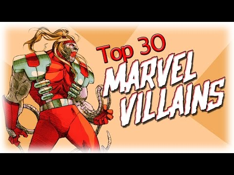 Top Marvel Villains #NemRaps - 동영상