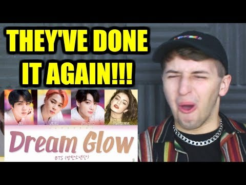 BTS Charli XCX - DREAM GLOW Reaction