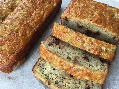 SOUR CREAM BANANA CHOCOLATE CHIP BREAD