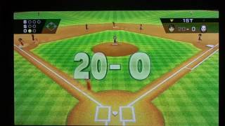 Wii Sports Baseball: 44-0 (Full Game!)