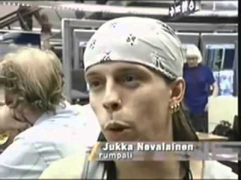 Nightwish - Interview Airport (1998)