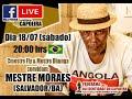 Sugestão: Live com Mestre Moraes