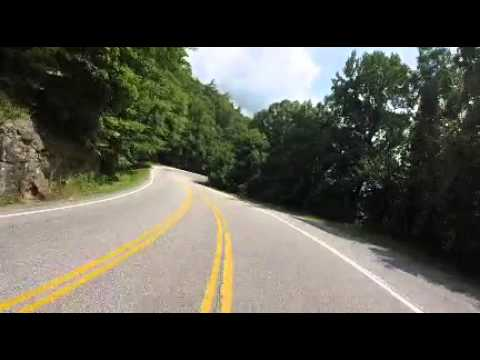 US Hwy 19 from the Blairsville/Helen, Gerogia area.