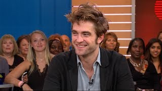 Robert Pattinson says he learned how to speak in a Queens accent in a tattoo shop