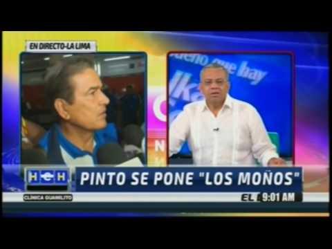 La pelea de Jorge Luis Pinto vs Ernesto A  Rojas de HCH