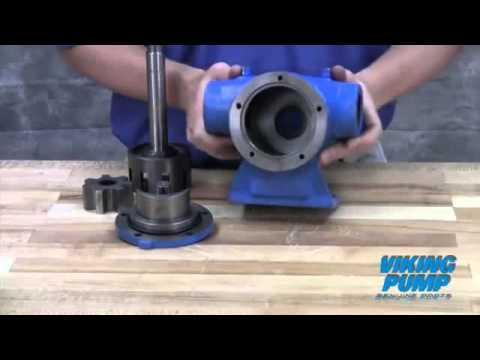Viking Pump Repair Kit Installation - High Speed Compact Internal Gear Pump