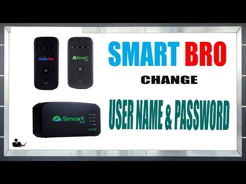 How To Change Smart Bro Pocket  Wi-Fi Name And Password (UPGRADED 2019)