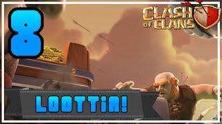 Clash of Clans: Osa 8 - JÄTTI LOOTIT!
