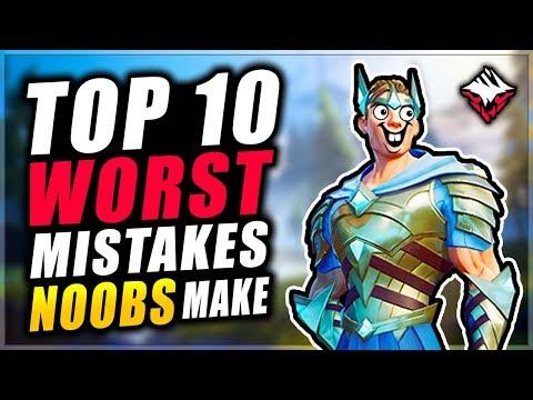 DAUNTLESS - Top 10 WORST MISTAKES NOOBS Make (Dauntless Tips)