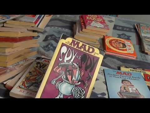 My MAD & CARtoons Magazine Collection as of 2015