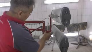 видео Инфракрасные сушки IRT (Швеция)