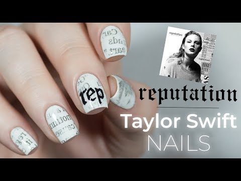 Reputation Taylor Swift Nails | NailsByErin