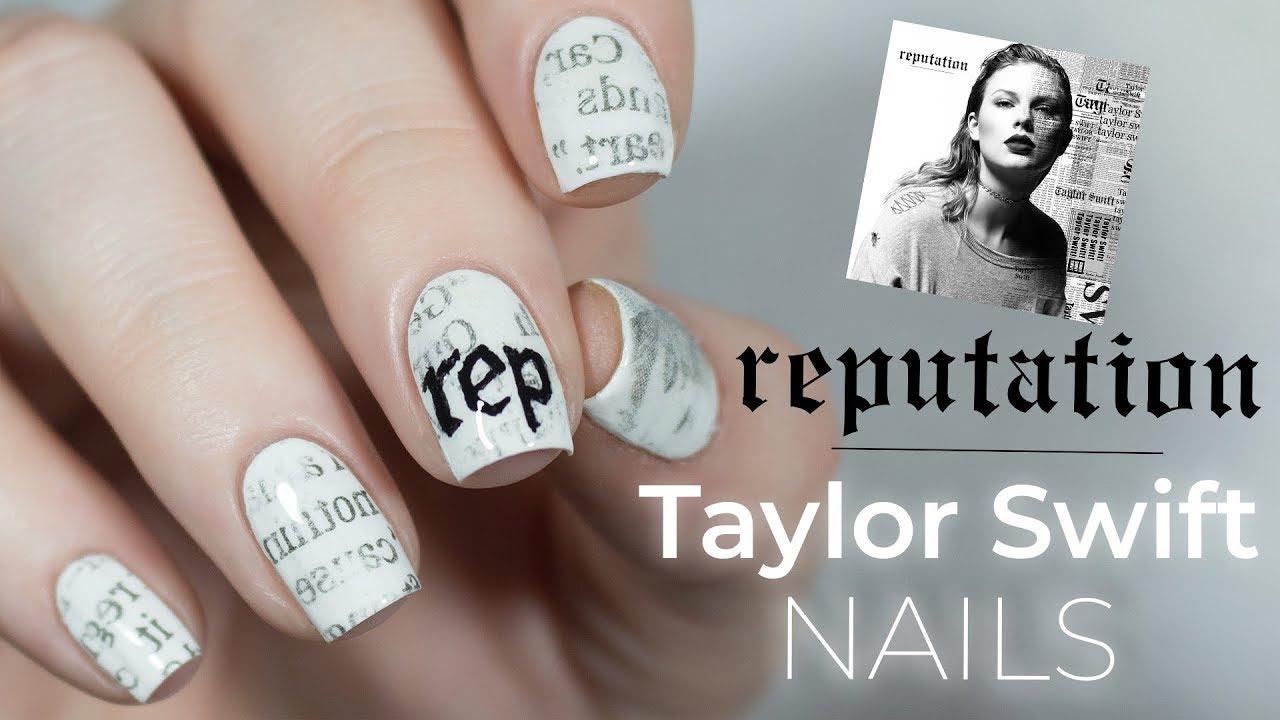 Retion Taylor Swift Nails Nailsbyerin