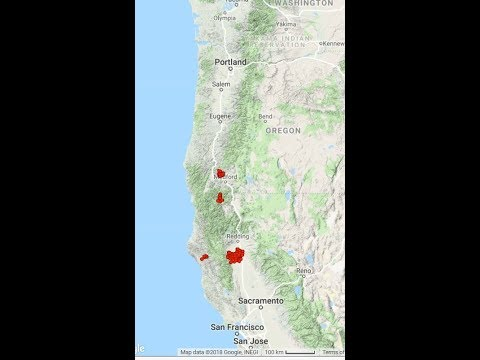Large uptick in Tremor detection.. Cascadia Subduction Zone 3/18/2018