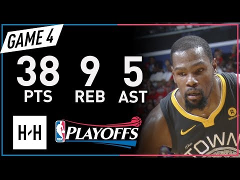 Kevin Durant EPIC Full Game 4 Highlights vs Pelicans 2018 NBA Playoffs - 38 Pts, 9 Reb, 5 Ast!
