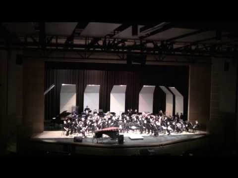 Symphonic Band pre CMEA concert Jan 23 2017 at Fossil Ridge