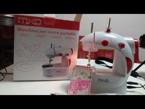 Macchina per cucire portatile mxd proviamola insieme for Ipercoop macchina da cucire
