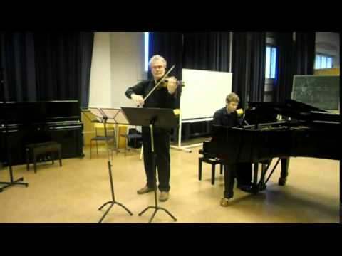 Thomas Tellefsen: Sonata op. 19 for violin and piano