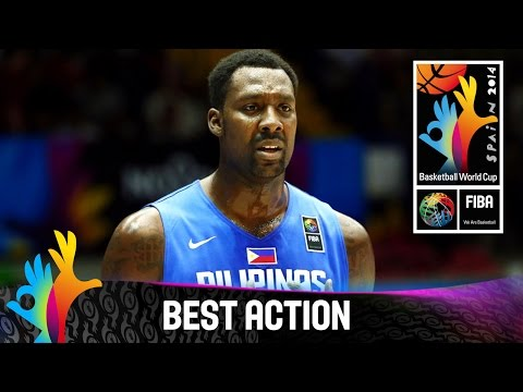 Blatche three pointer send crowd into raptures - 2014 FIBA Basketball World Cup