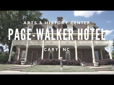 Page-Walker Arts & History Center | Cary NC |  #The100DayProject | Main Street Citizens