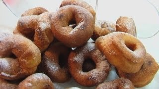 Пончики видео рецепт (Doughnuts recipe) Книга о вкусной и здоровой пище