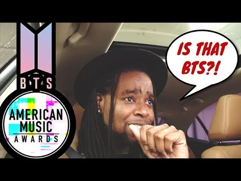 I Saw BTS At The AMA's !!!