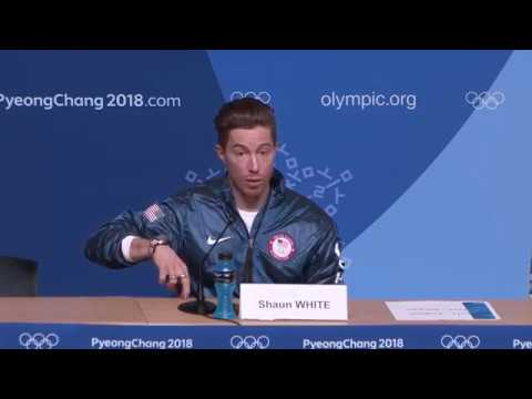 Shaun White Press Conference - 2/14/18